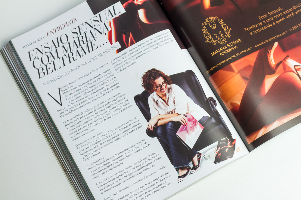 Entrevista Revista Noiva de Minas